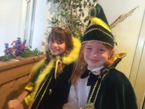 Prinzessin Sara Heinrichs und Prinz Tom Schrüllkamp